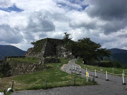 竹田城天守台の外観