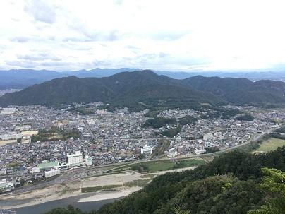 岐阜城天守からの景色