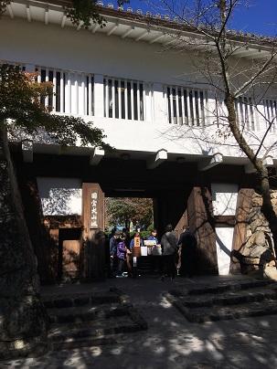 犬山城櫓門