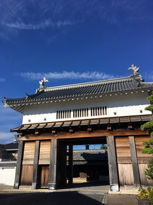 掛川城復元された天守