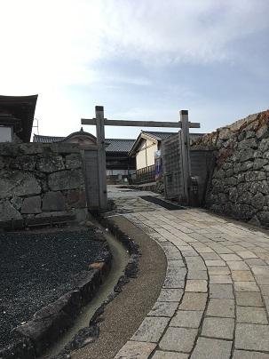篠山城虎口