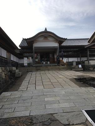 篠山城大書院正面