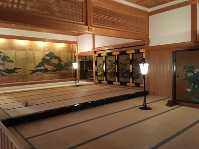 篠山城大書院内部