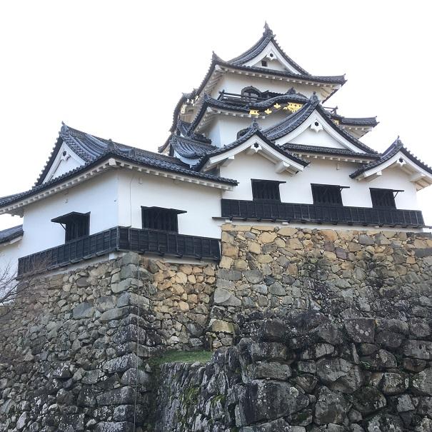 彦根城天守裏手側からの外観