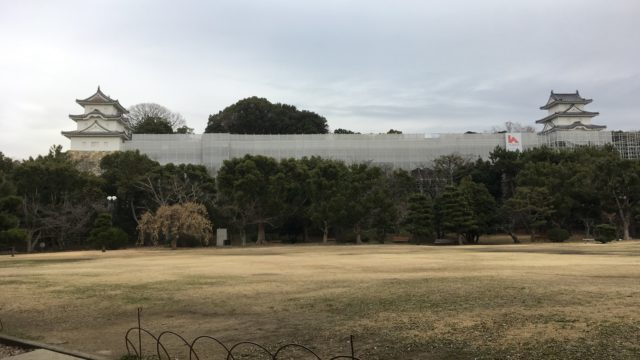 明石城坤櫓と巽櫓