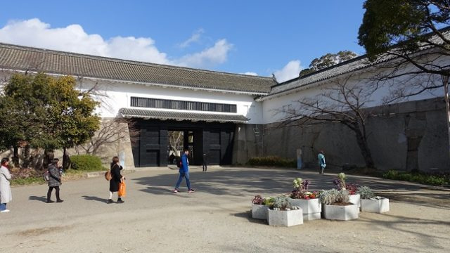大阪城虎口