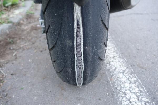 リアタイヤ2万キロ