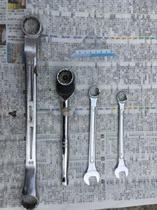 400xチェーン調整用工具一式