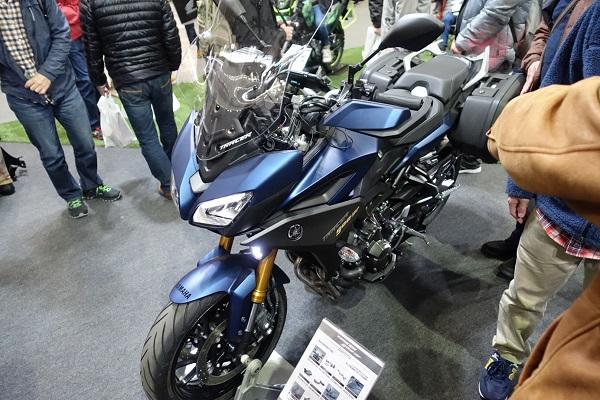 大阪モーターサイクルショー2019ヤマハTRACER900GT