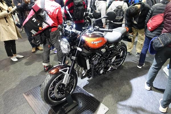 大阪モーターサイクルショーカワサキブースZ900RS