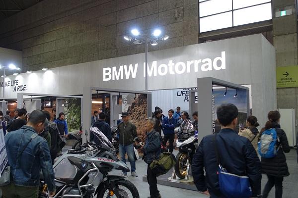 大阪モーターサイクルショー2019BMWブース
