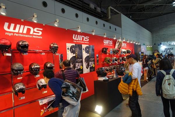 大阪モーターサイクルショー2019ヘルメット