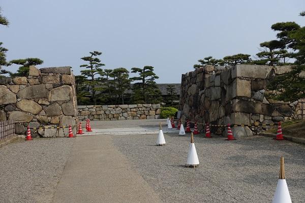 高松城桜御門跡