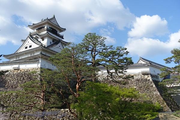 高知城三の丸からの天守