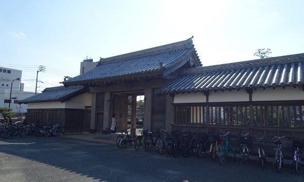 徳島城鷲ノ門