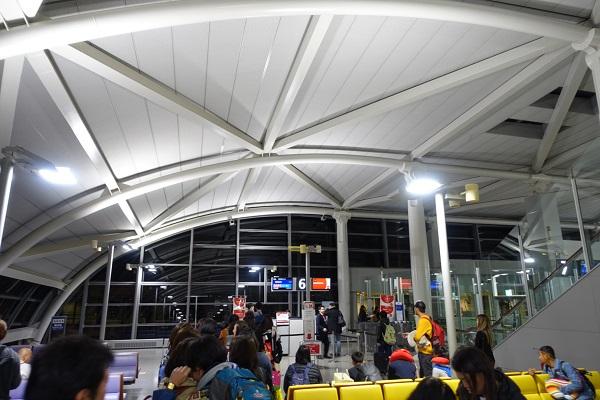 関西国際空港-エアアジア搭乗開始