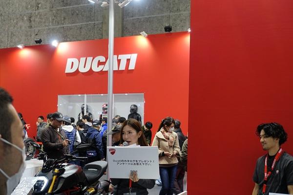 大阪モーターサイクルショー2019DOCATIブース