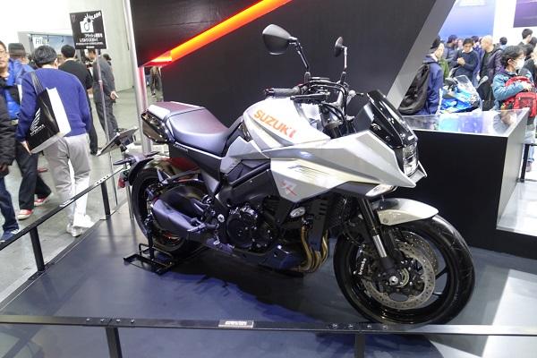 大阪モーターサイクルショー2019スズキ刀