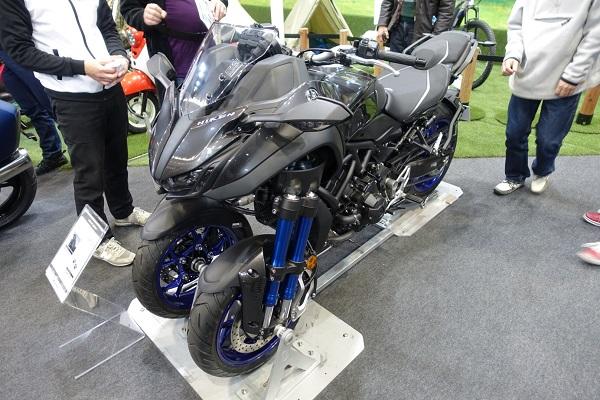 大阪モーターサイクルショー2019ヤマハNIKEN