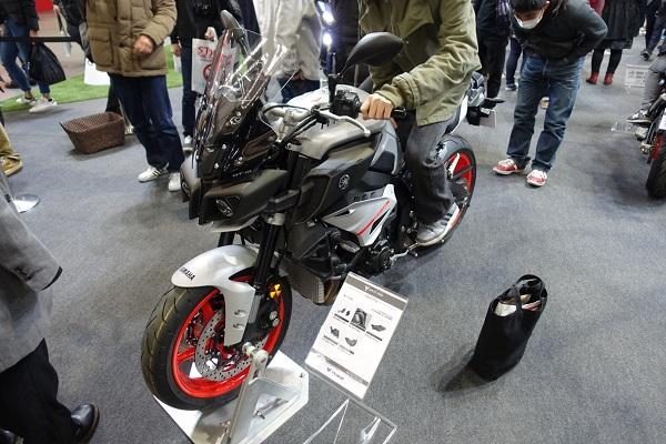 大阪モーターサイクルショー2019ヤマハMT-10