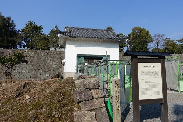 二条城本丸櫓門