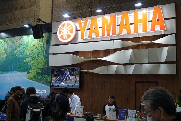 大阪モーターサイクルショー2019ヤマハブース