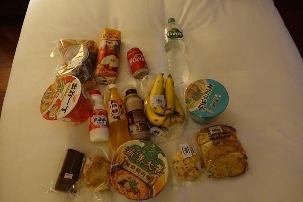 アンコールワットスーパーで手に入る食べ物