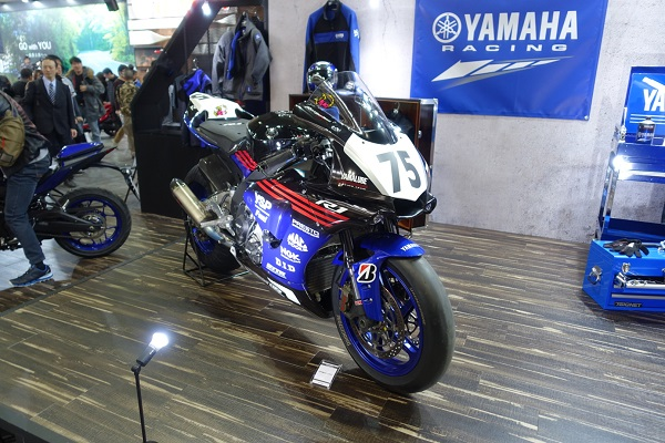 大阪モーターサイクルショー2019ヤマハレース車