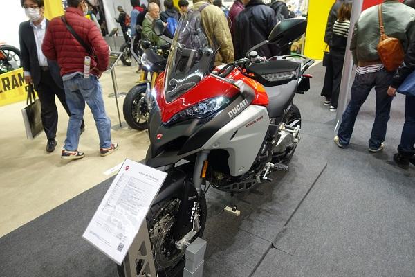 大阪モーターサイクルショー2019DOCATIブースMultistrada1260Enduro