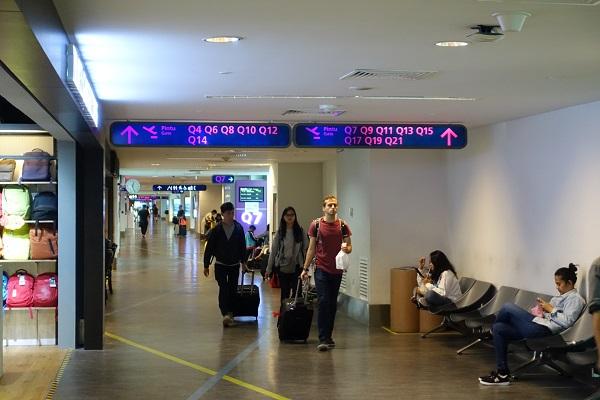 クアラルンプール国際空港2搭乗手前エリア