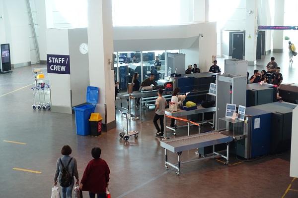 クアラルンプール国際空港2保安検査その2
