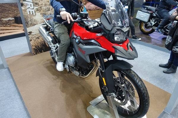 大阪モーターサイクルショー2019BMWF850