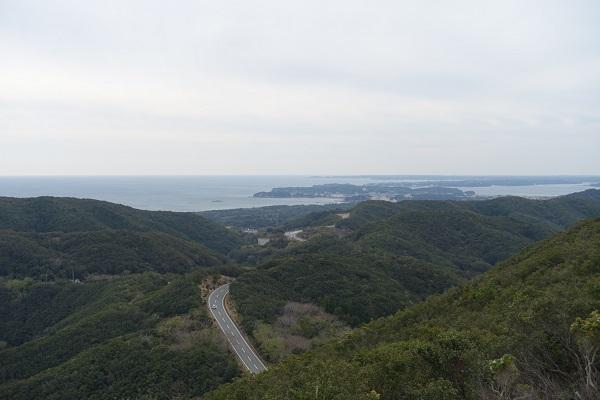 パールロード-鳥羽展望台からの景色