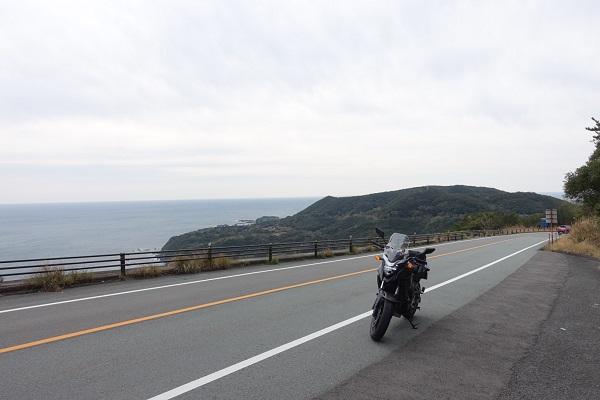 パールロード-海とバイク