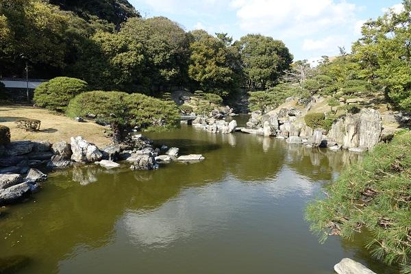徳島城跡庭園
