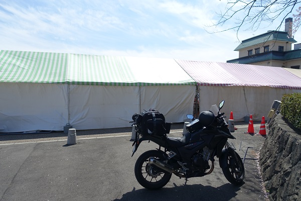 丸岡城駐車場