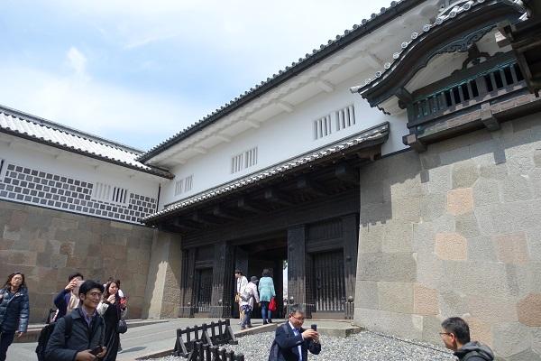 金沢城石川門2の門