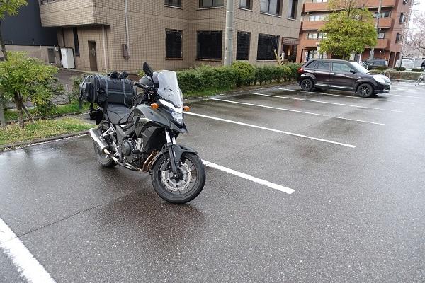 高岡城駐車場