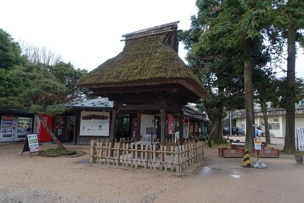 高岡城の民部の井戸