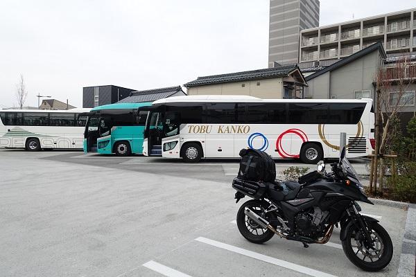 松本城駐車場