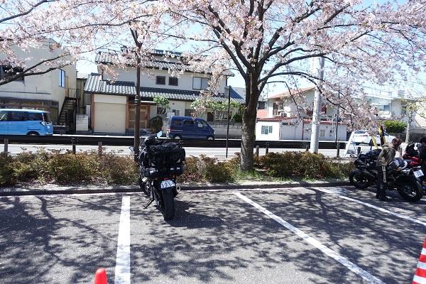 上田城駐車場