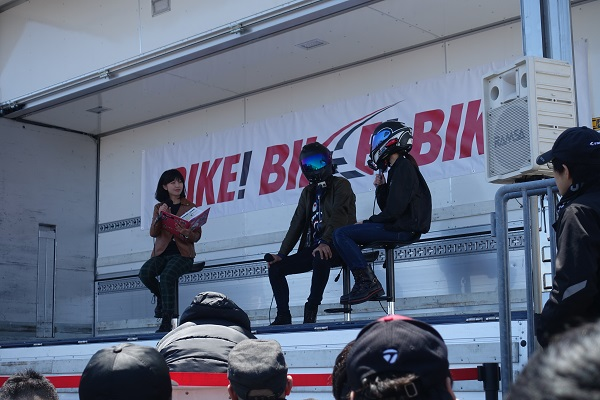 BIKE!BIKE!BIKE!トークショー