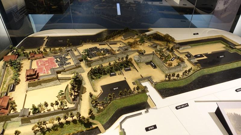 盛岡城模型