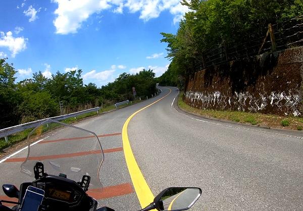 箱根スカイラインの道