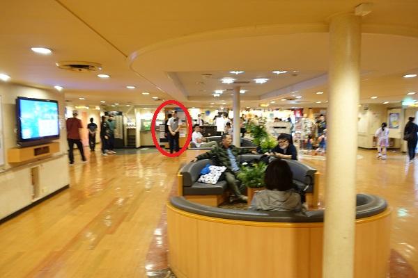 名門大洋フェリー5階