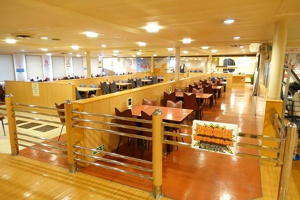 名門大洋フェリーレストラン