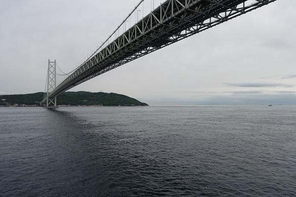 名門大洋フェリーからみる明石海峡大橋2