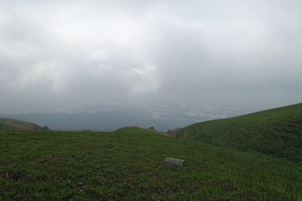 大観峰登頂展望所から