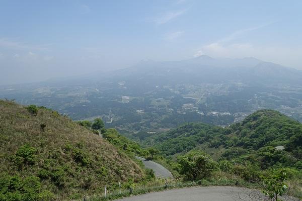 俵山峠展望所からの景色