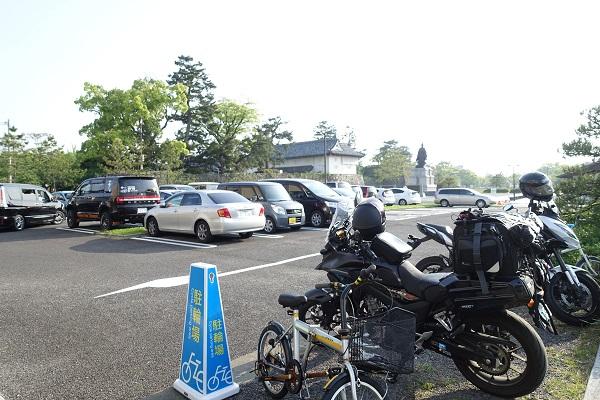 佐賀城前駐車場
